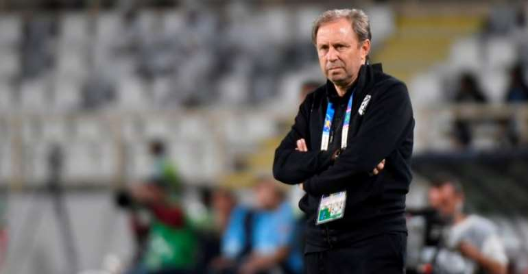 Milovan Rajevac to pocket $600,000 should Black Stars win 2021 Afcon and qualify for 2022 World Cup