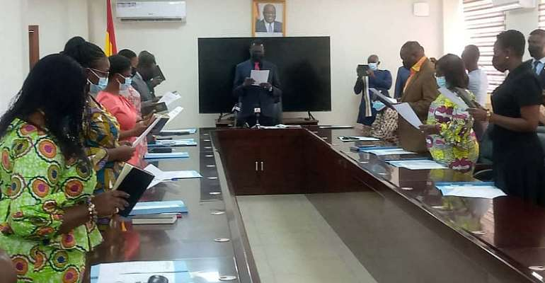 11-member CTVET Governing Board inaugurated