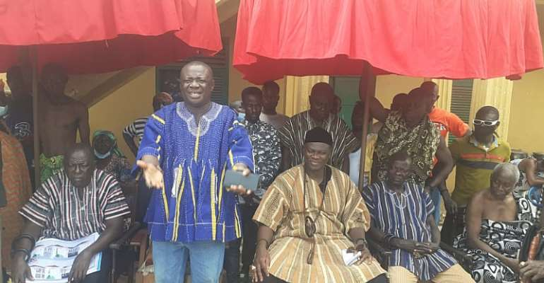 Akyem Kotoku Chief cautions distractors, says palace will be built at all cost
