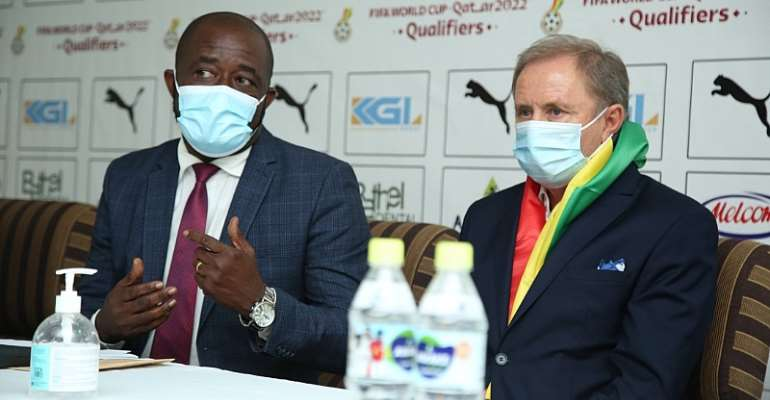 GFA president Kurt Okraku backs new Black Stars technical team to succeed