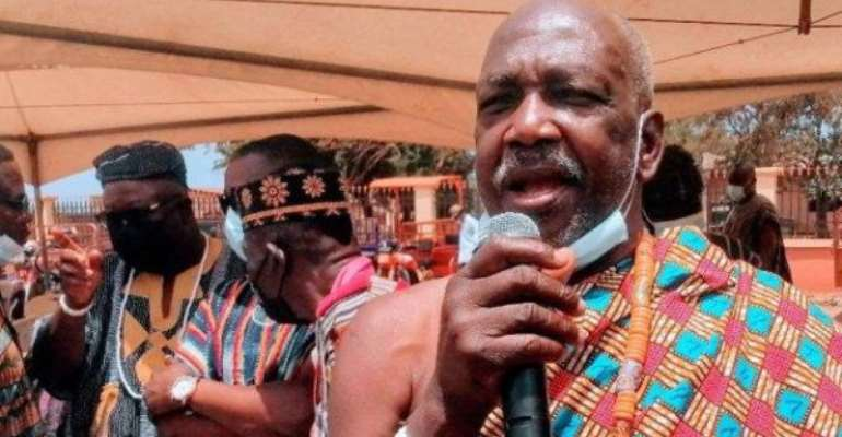 Kpone Paramount Chief worried over rising skin bleaching among youth