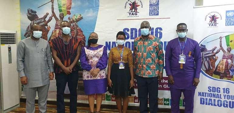 YAG, UNDP, hold SDG 16 National Youth SDGs dialogue