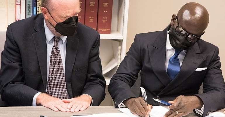 Godfred Dame brokers landmark US scholarship agreement for Ghanaian lawyers