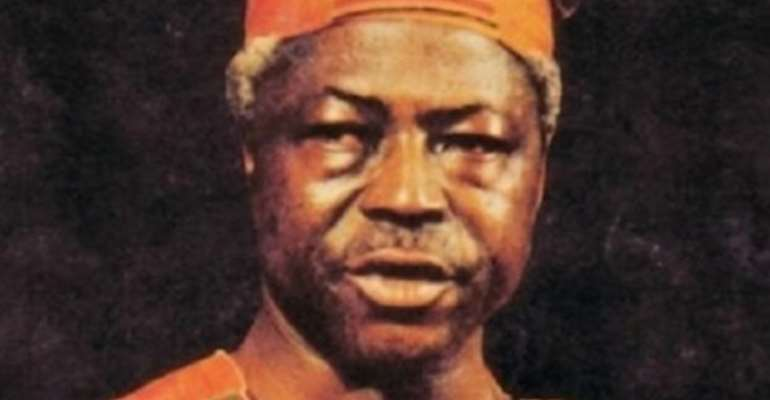 The late Dr. Hilla Limann