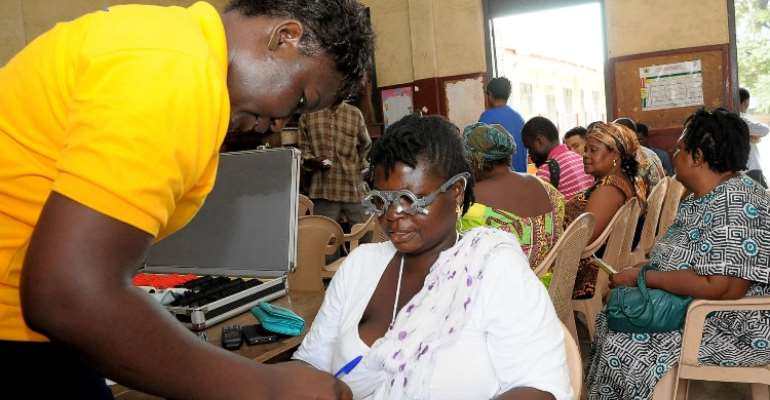 Adabraka residents get free health screening from ABL, Graphic
