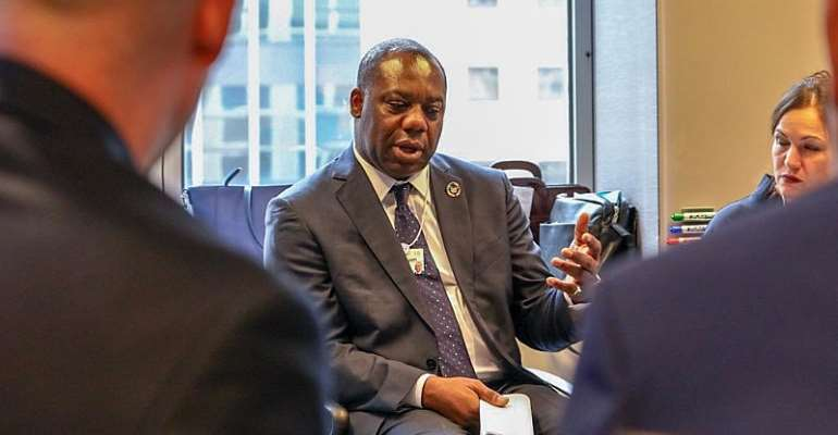Minister NAPO Attends World Economic Forum And Sustainable Development Impact Summit
