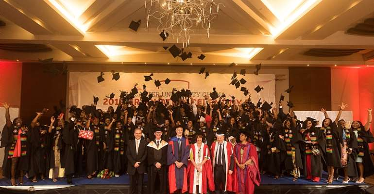 Lancaster University Ghana Holds Third Undergraduate Graduation Ceremony