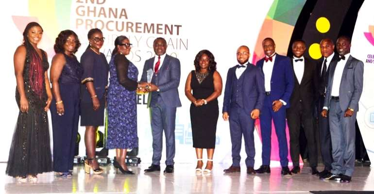 MTN Grabs 3 Awards At The 2019 Ghana Procurement & Supply Chain Awards