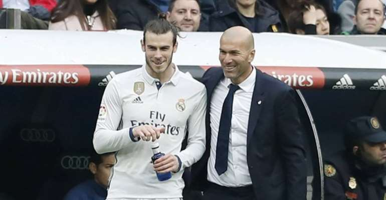 'He's A Great Player' - Zidane Impressed With Bale As He Becomes Key For Madrid