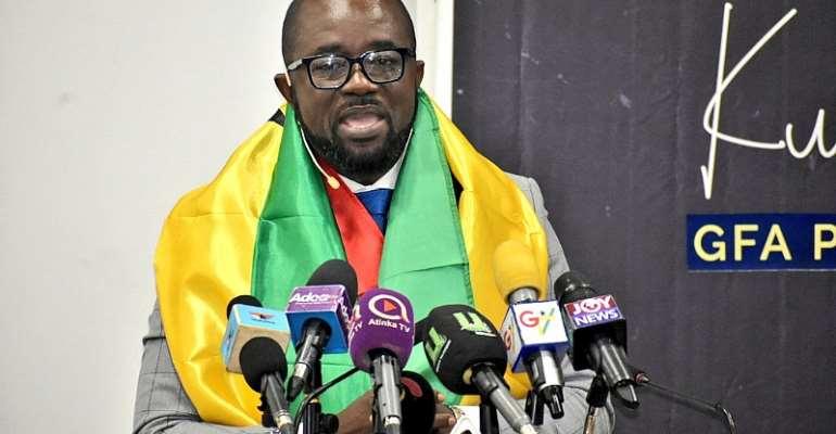 GFA Elections: Kurt Okraku Unveils Enticing Manifesto