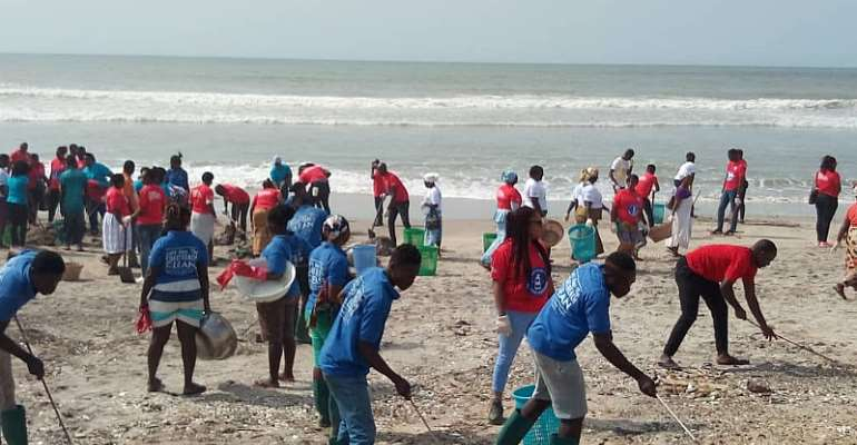Maritime Authority Cleans Independence Square Beach To Mark World Maritime Day
