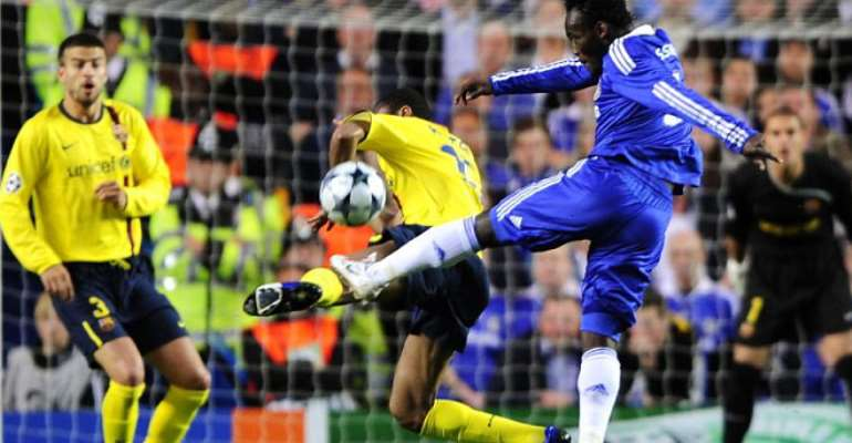 Guardiola Demanded Compulsory Doping Test After Michael Essien Scored Against Barca - Eto'o Reveals