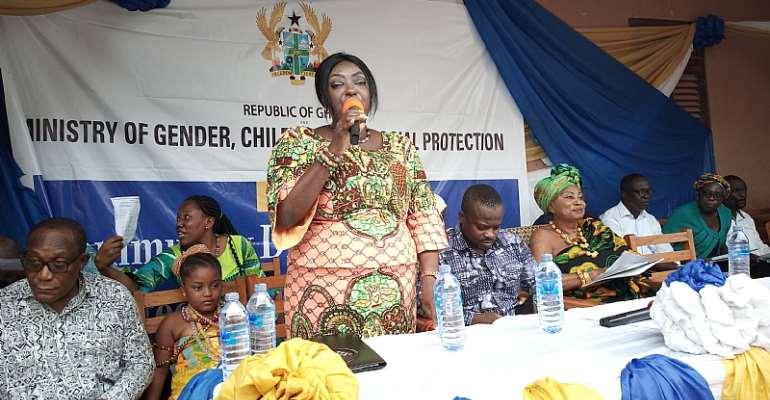 Gender Ministry Embarks On Nationwide Sensitization Tour
