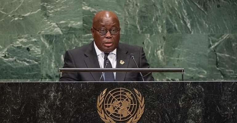 Akufo-Addo Address UN General Assembly Today