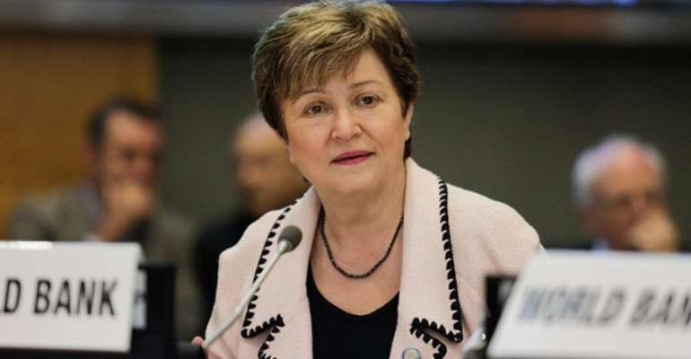 New Managing Director of IMF, Kristalina Georgieva