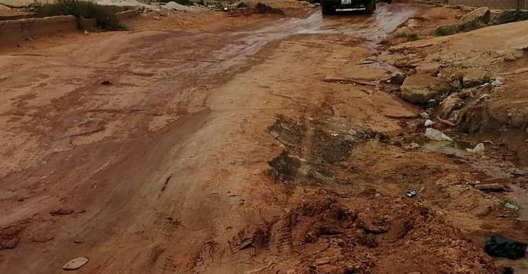 Angry Ablekuma Manhean Residents Roar Over Bad Roads