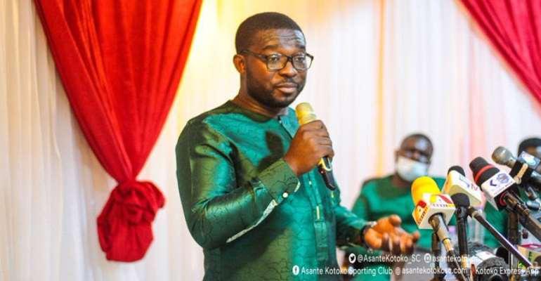 Chief Executive Officer [CEO] of Asante Kotoko, Nana Yaw Amponsah