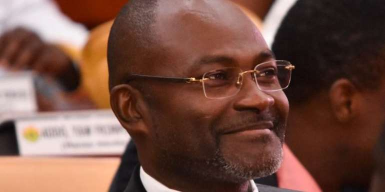 Who is this Kennedy Agyapong (Honourable)?