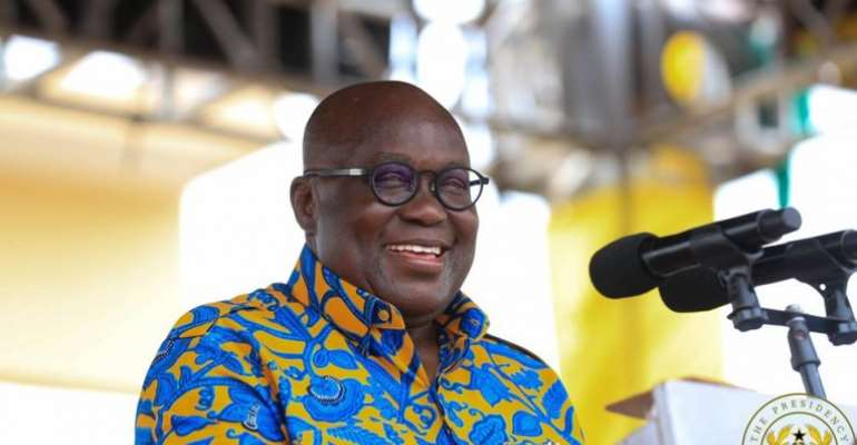 'Give Me Four More Years For Creating Western North Region' – Akufo-Addo To Residents