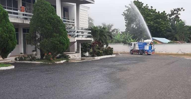 Volta Region: Disinfection Exercise Begins In Senior High Schools
