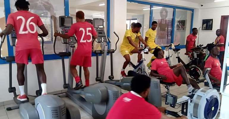 Hearts Of Oak Players Start Gym Work Ahead Of New Season