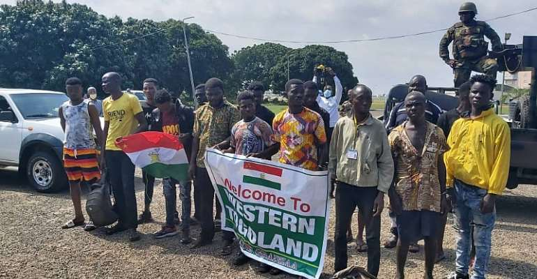 Arrested Western Togoland Secessionists Land In Accra