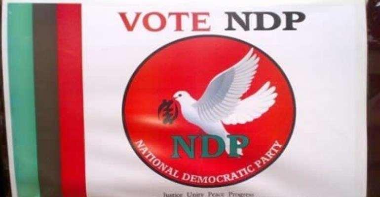 NDP To Outdoor Konadu's Running Mate Tomorrow