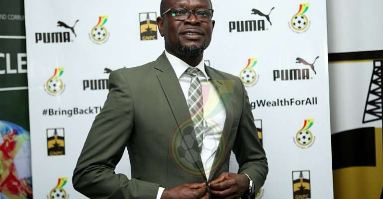 Black Stars head coach C.K Akonnor. Image Credit/Ghana FA