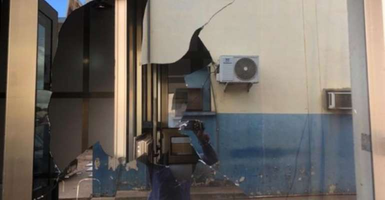 Youth destroy Police, NEDCo property in Tamale