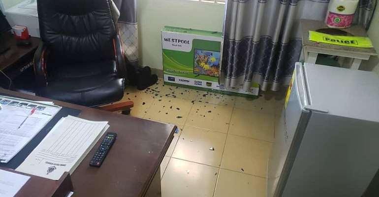 Residents attack Lamashegu Police Station, NEDCo Office over police brutality