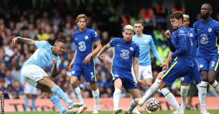Gabriel Jesus gives Manchester City stunning 1- 0 win over Chelsea