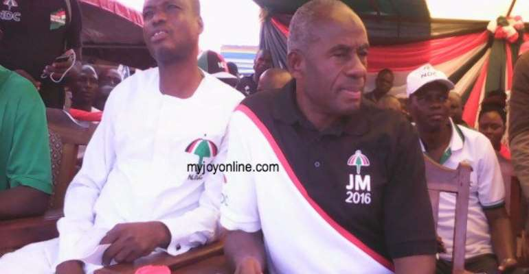 Techiman North NDC and NPP launch campaign on same day