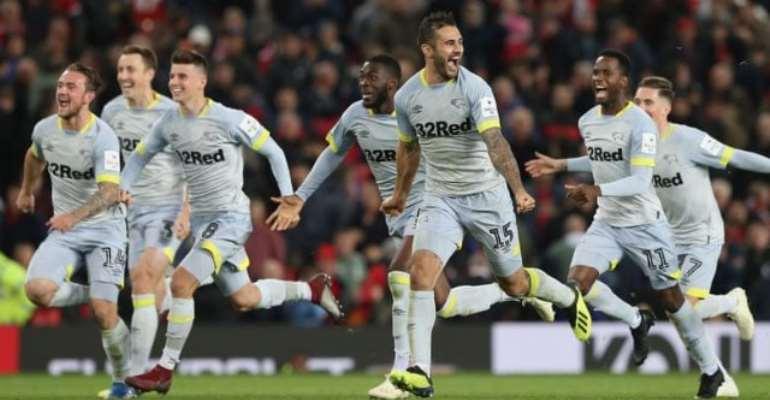 Carabao Cup: Man Utd Beaten On Penalties By Lampard's Derby