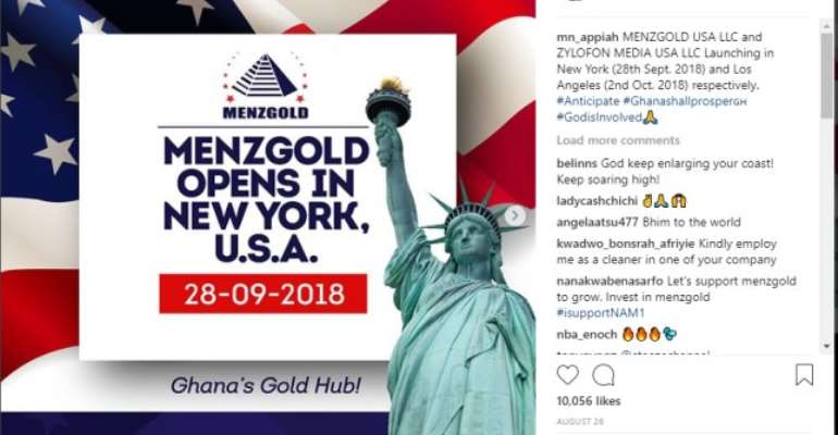 MenzGold Has Become A Public Policy Issue--IMANI Outlines Way Forward