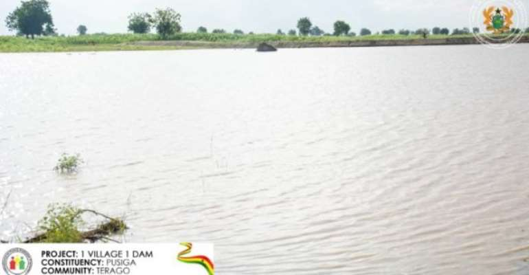 Each of the 56 constituencies in northern Ghana, apart from Tamale Central, is to benefit 10 small earth dams.