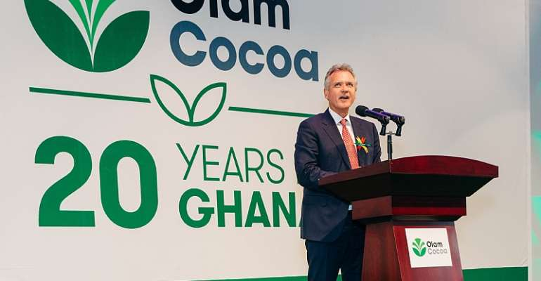Mr. Gerard Manley, Addressing The Audience