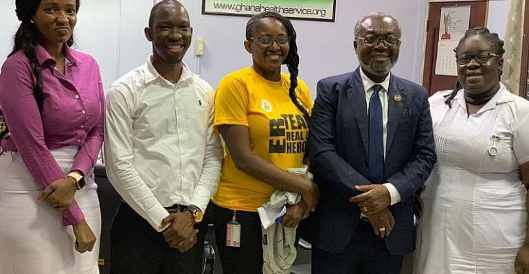 Emergency Medicine Society Call On Director General Of GHS