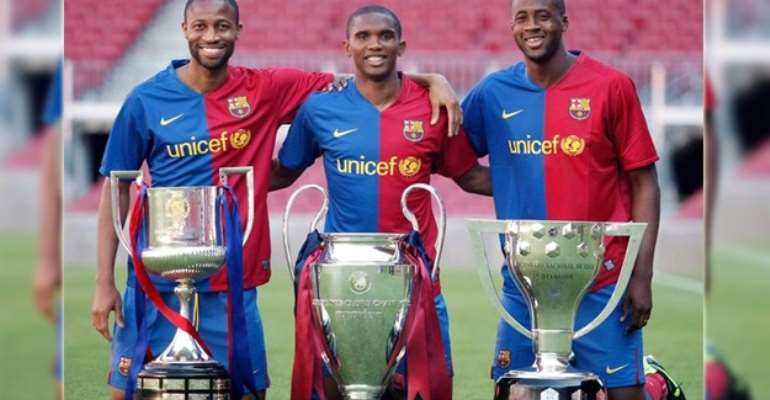 KEITA, ETO'O AND TOURE