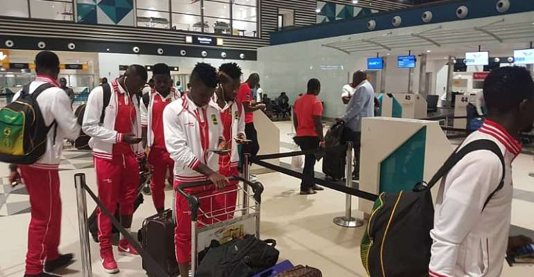 CAF Champions League: Kotoko Jet Off To Tunisia For Etoile du Sahel Encounter