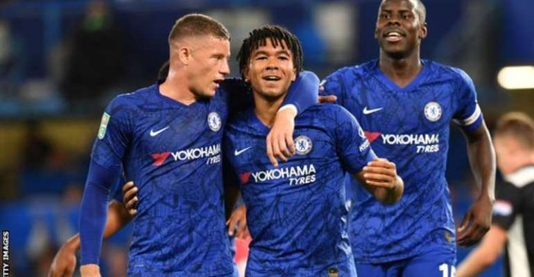 James Impresses As Chelsea Put Seven Past Grimsby