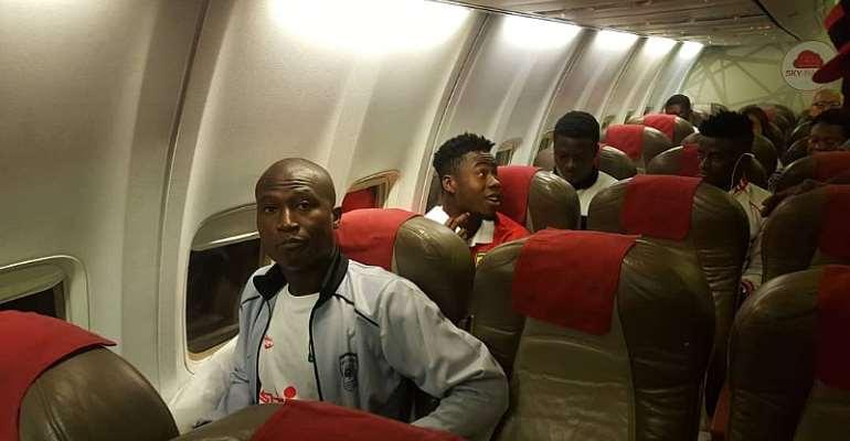 CAF CL: Kotoko Depart Ghana For Tunisia Ahead Of Etoile Du Sahel Return Leg