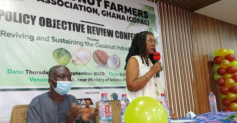 GEPA CEO Commends Women In Coconut Farming