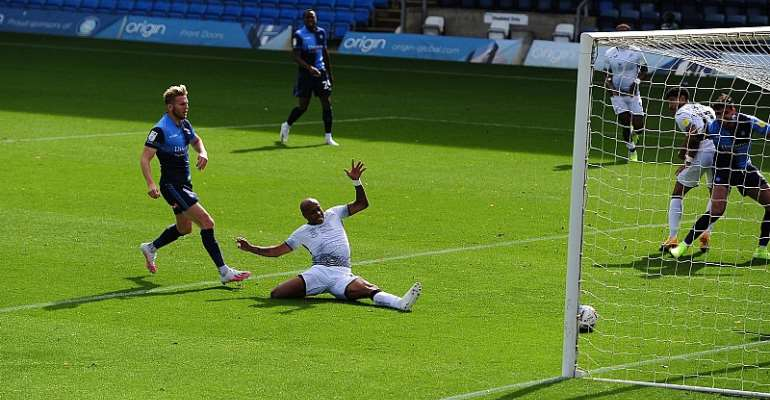 Andre Ayew Stars With Goal And Assist As Swansea City Beat Wycombe 2-0