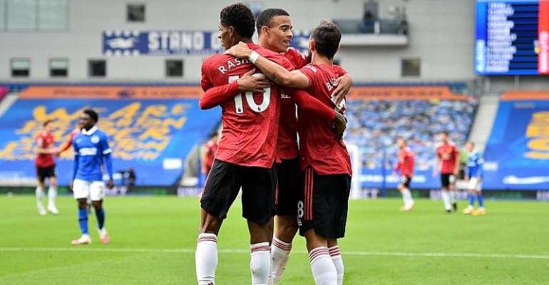 PL: Man Utd Snatch Dramatic Late Win At Brighton