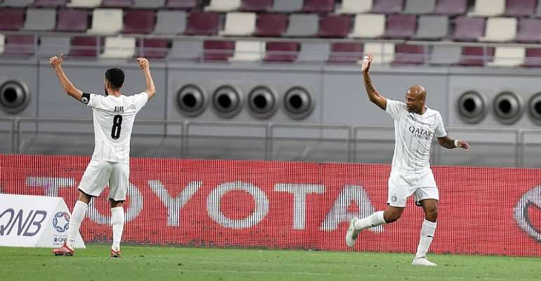 In-form Andre Ayew on target for Al-Sadd in heavy win against Al-Shamal