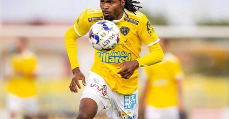 Former Hearts of Oak striker Kwame Kizito