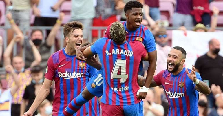 'I am proud to wear the 10 jersey after Leo Messi's exit' - Ansu Fati