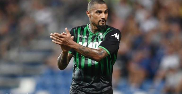US Sassuolo Handed Kevin-Prince Boateng Injury Boost Ahead Of Spal Clash