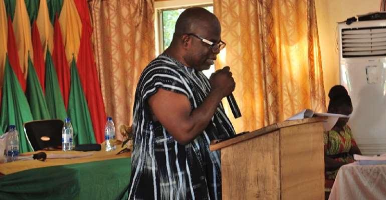 Municipal Chief Executive Mr. Edward Owusu