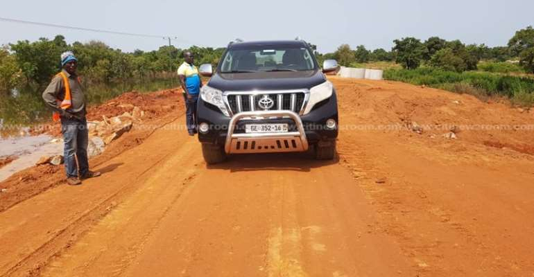 Wa-Tumu-Bolga Road Fixed After Road Minister's Directive